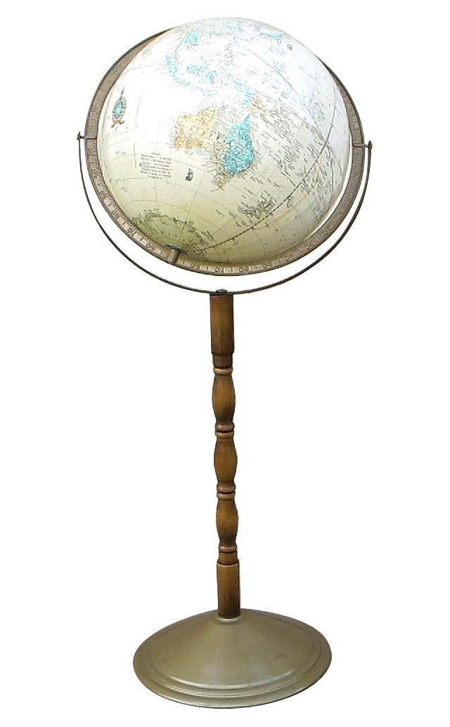 1960s Globe On A Stand