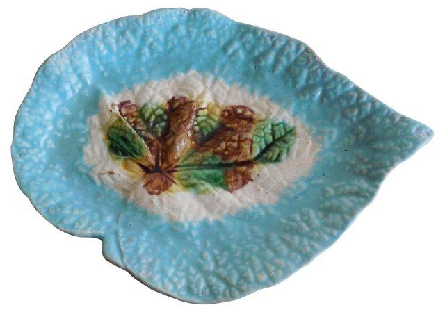 Majolica  Begonia Wall Plate