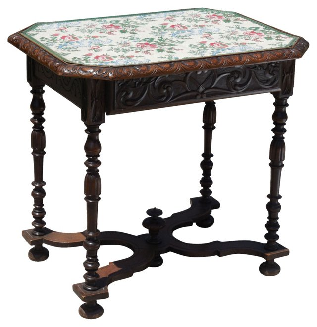 Antique   French Carved Table