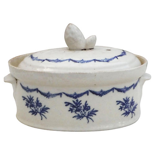 Blue & White Tureen