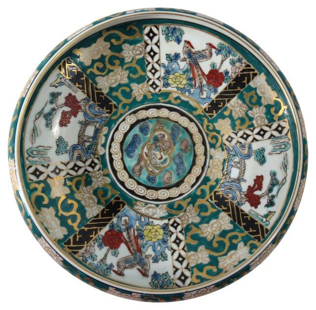 Imari Hand-Painted Bowl