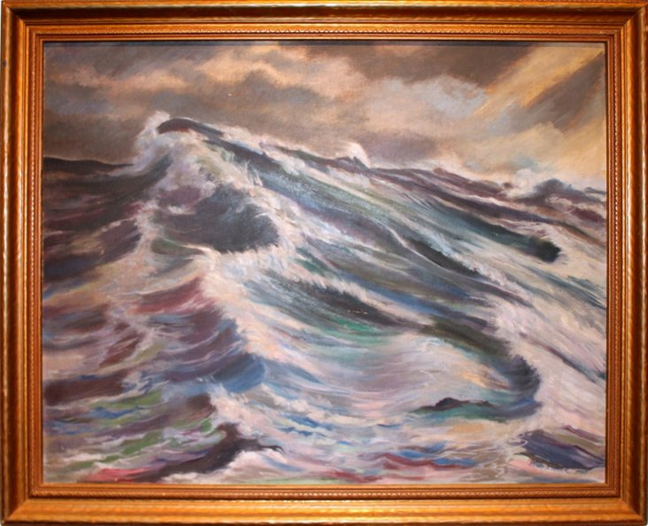 The Perfect Wave by Henry Weaver