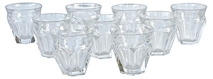 Baccarat Talleyrand Glasses, Set of 9