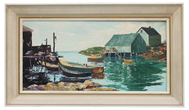 Peggy's Cove by Avery Vaughan