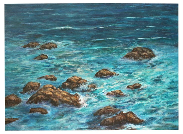 Azure Cove by Diane Rieger