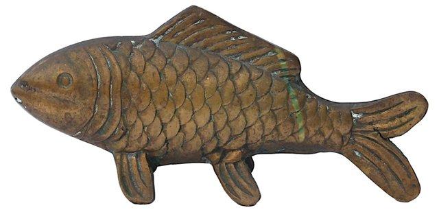 Brass   Koi Fish