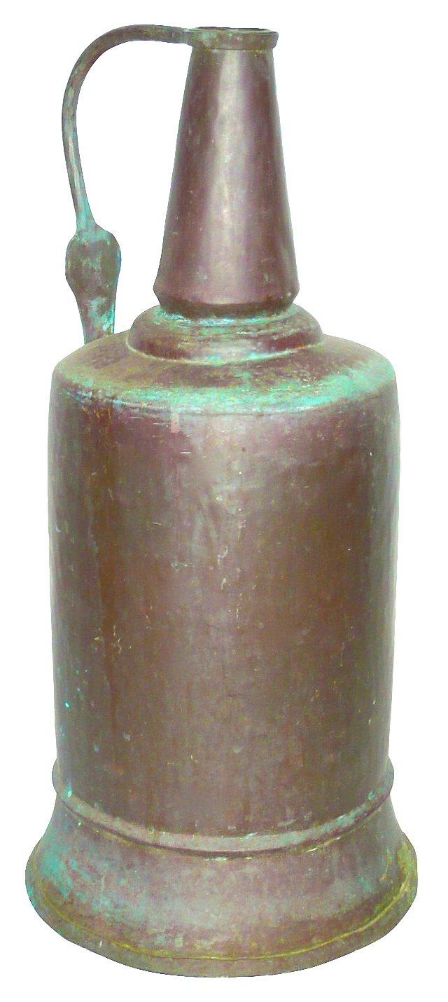 Antique Bronze Ewer