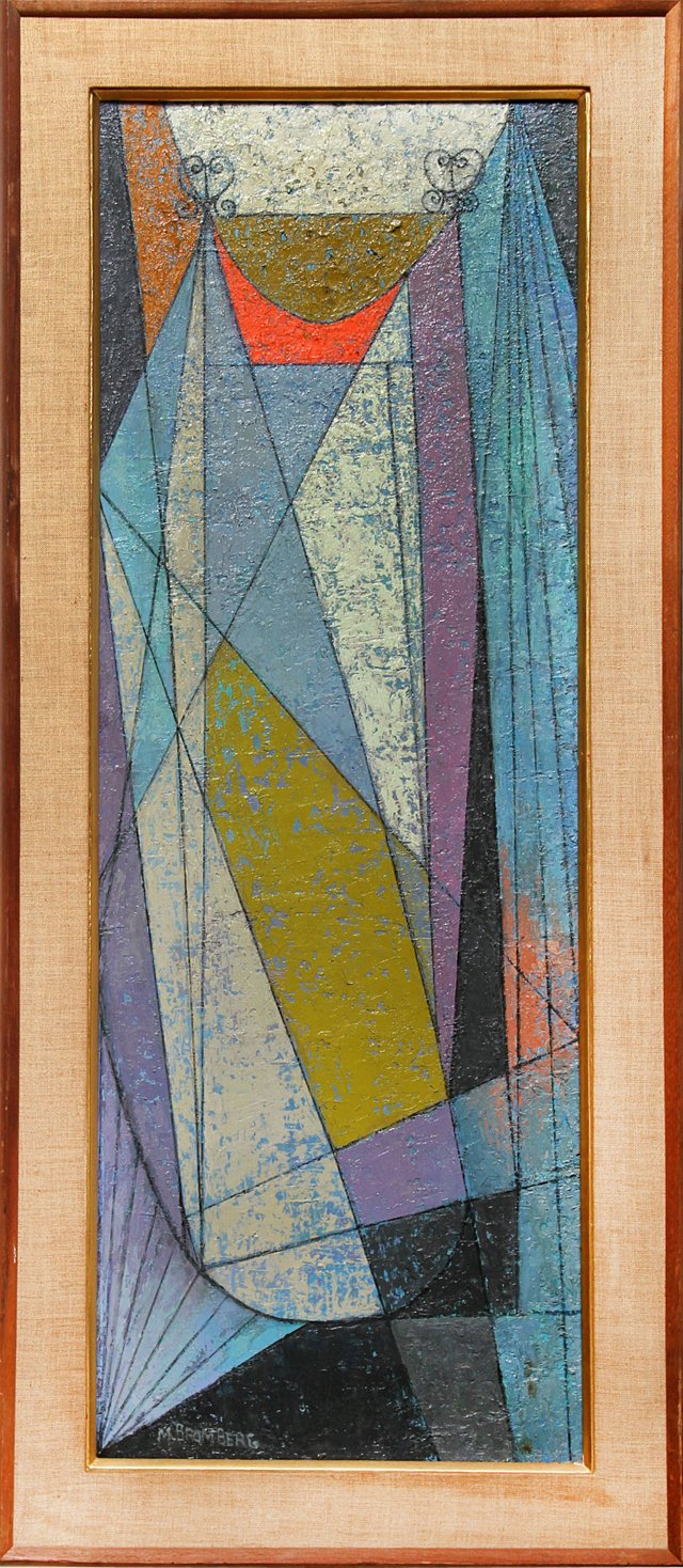 Geometric Abstract by Miriam Bromberg