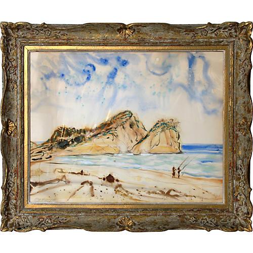 Westerly Seascape by Lloyd Lozes Goff