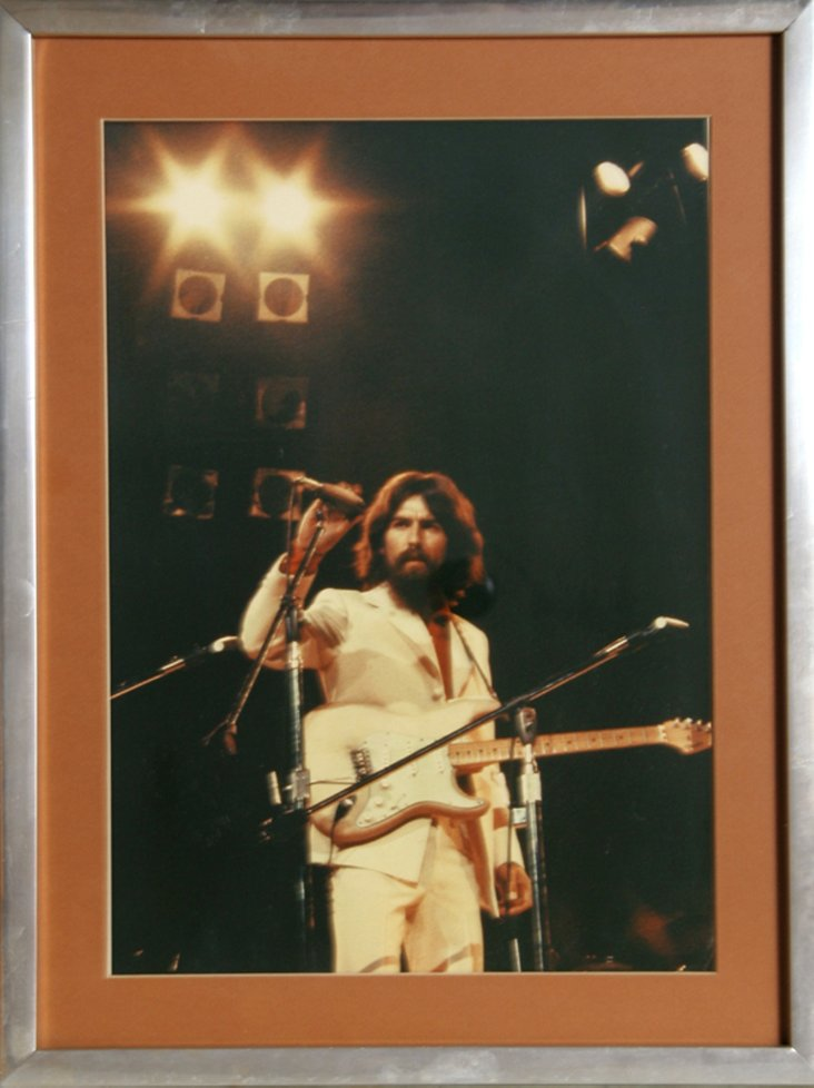 Stage Photograph of George Harrison