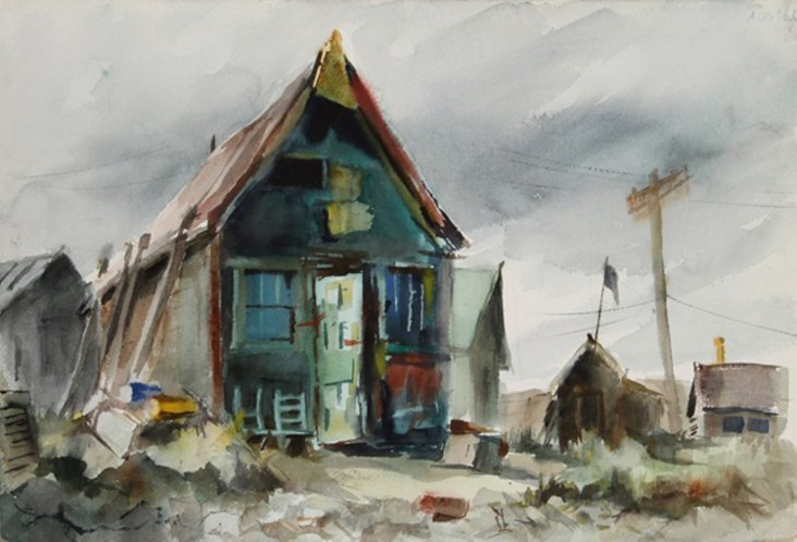 House in Maine by Eve Nethercott