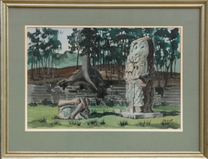 Sculpture Ruins by Mabel Scott