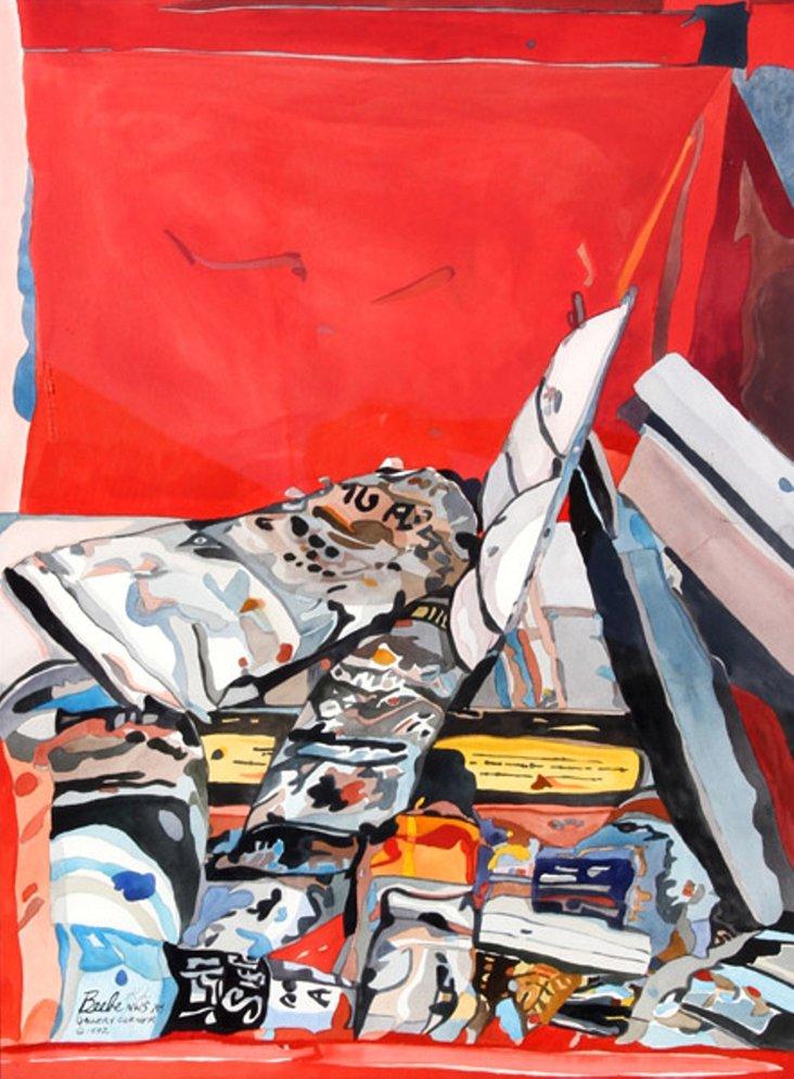 Gallery Corner by Sandra E. Beebe