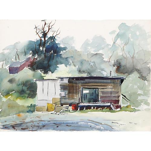 Hut by Eve Nethercott
