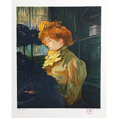 Portrait de Femme - Lautrec by Salinas