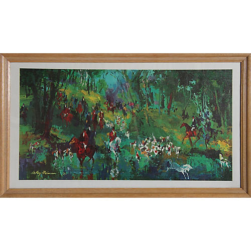 Fox Hunt by LeRoy Neiman