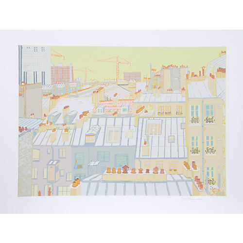 Paris Roofs by Marion McClanahan