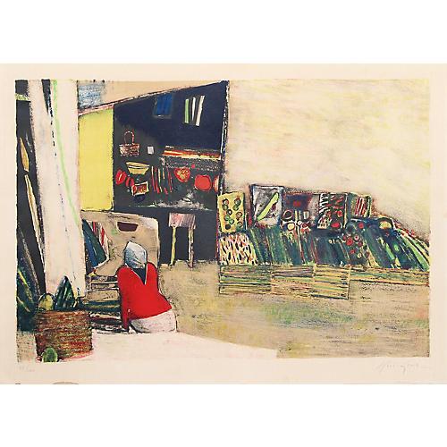 Market Woman by Rene Genis