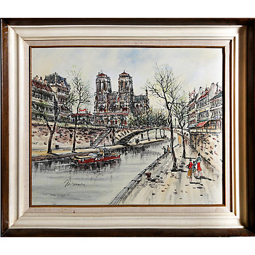 La Seine by Marie Sardim