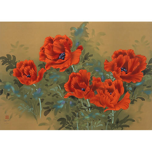 Poppies by David Lee