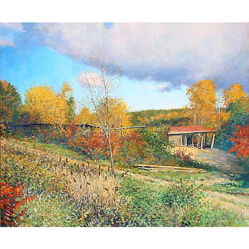 Sawmill at Westminster, VT - Wally Ames