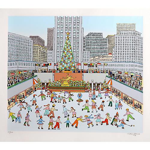 Rockefeller Center by Vestie Davis