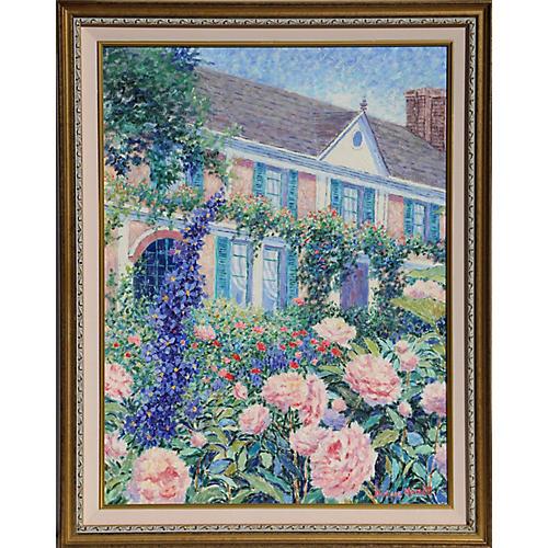 Peonies near Paris by Diane Monet