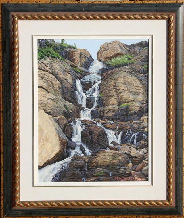 Clement Falls by Karroll Dalyce Brinton