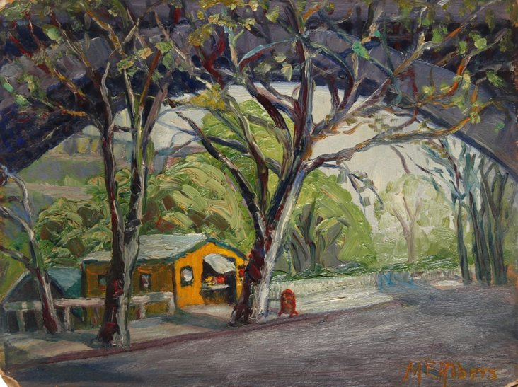 Country Road by Margaretha E. Albers