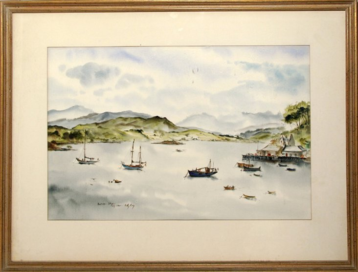 Port Ree, Isle of Skye by Betty Guy
