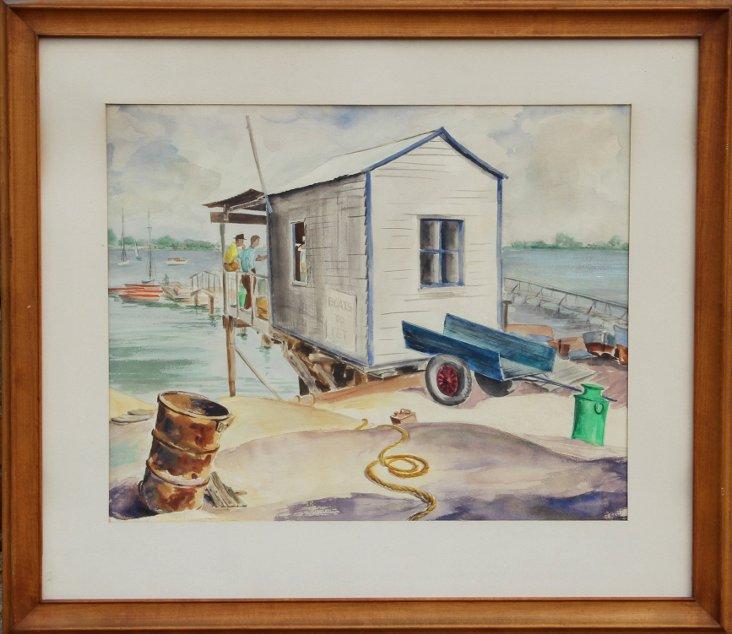 Docks by Eve Nethercott