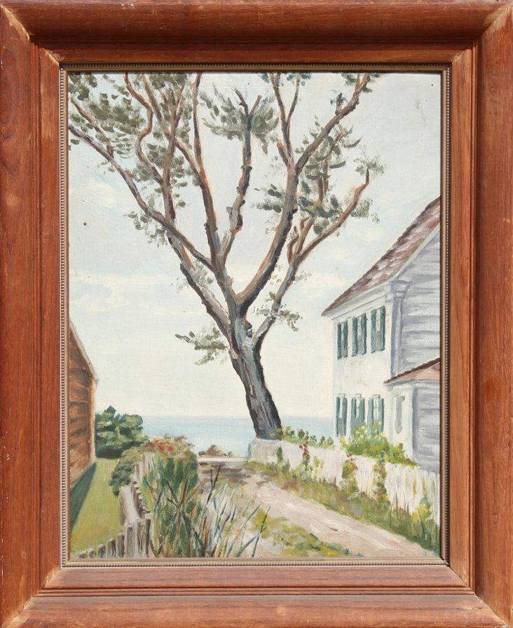 New England Seascape by Eve Nethercott