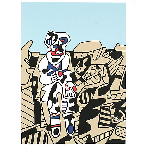 Inspection of Territory by Jean Dubuffet