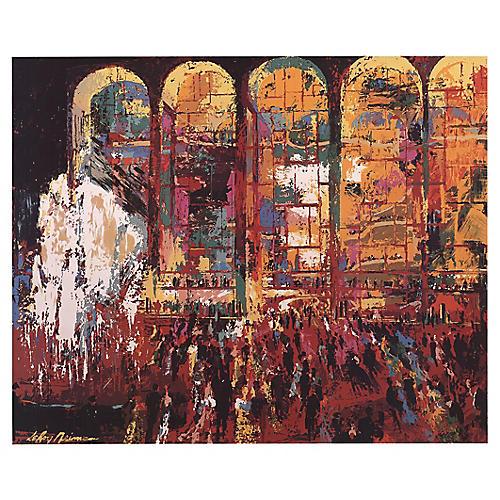 Metropolitan Opera by Leroy Neiman, 1980