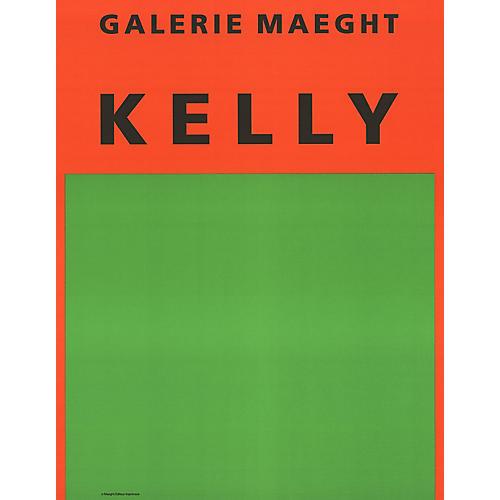 Ellsworth Kelly - Orange et Vert