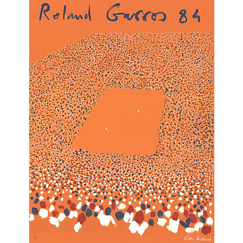 Gilles Aillaud - Roland Garros - S/N