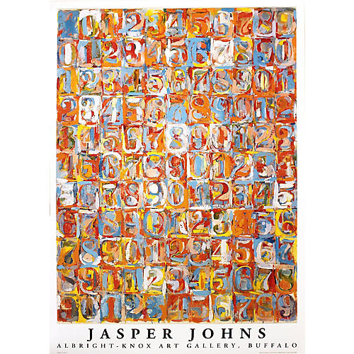 Numbers in Color by Jasper Johns, 1976