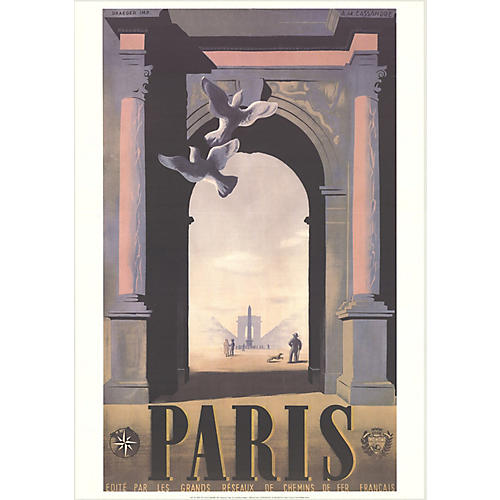 Paris by A.M. Cassandre