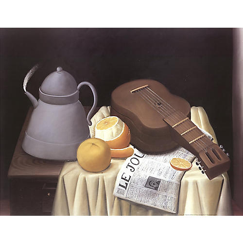 Le Journal (Full margins) by Botero