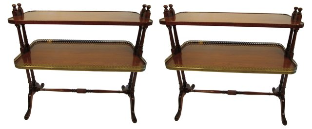 End  Tables by Old Colony, Pair
