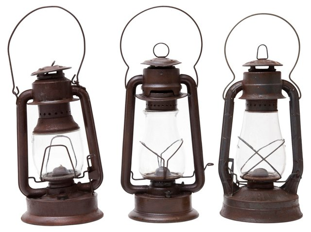 Lanterns, Set of 3