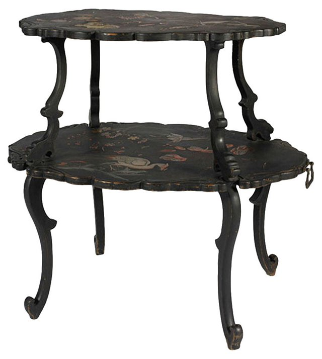 French 2-Tier Table