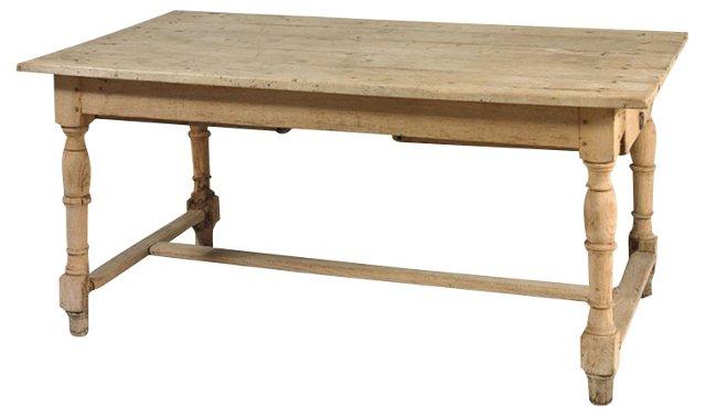 English Pine Table