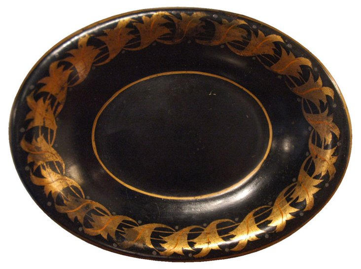19th-C. French Tole Tray