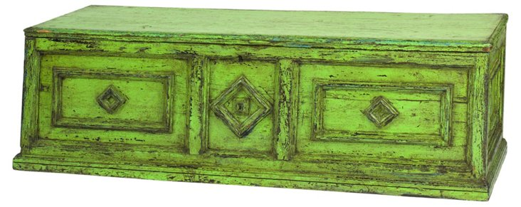 19th-C.  Irish Coffer