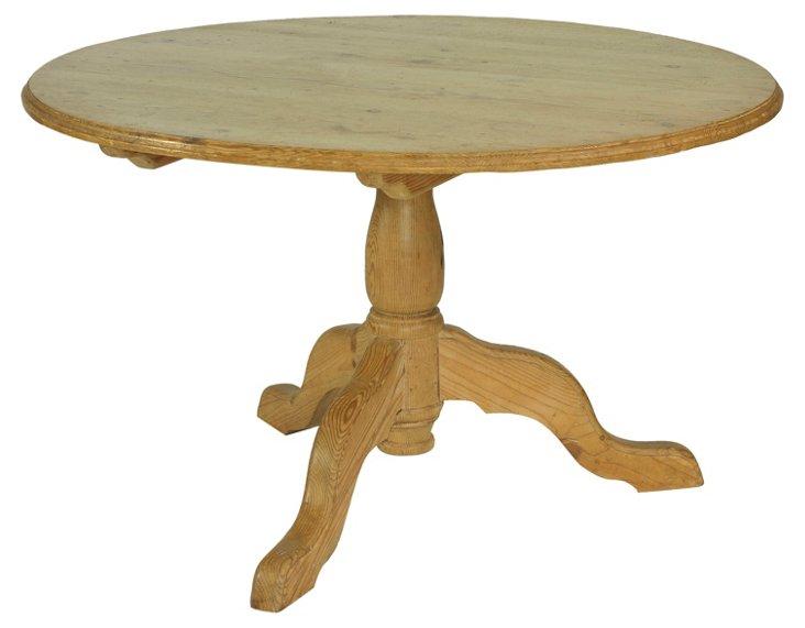 19th-C.  English Center Table