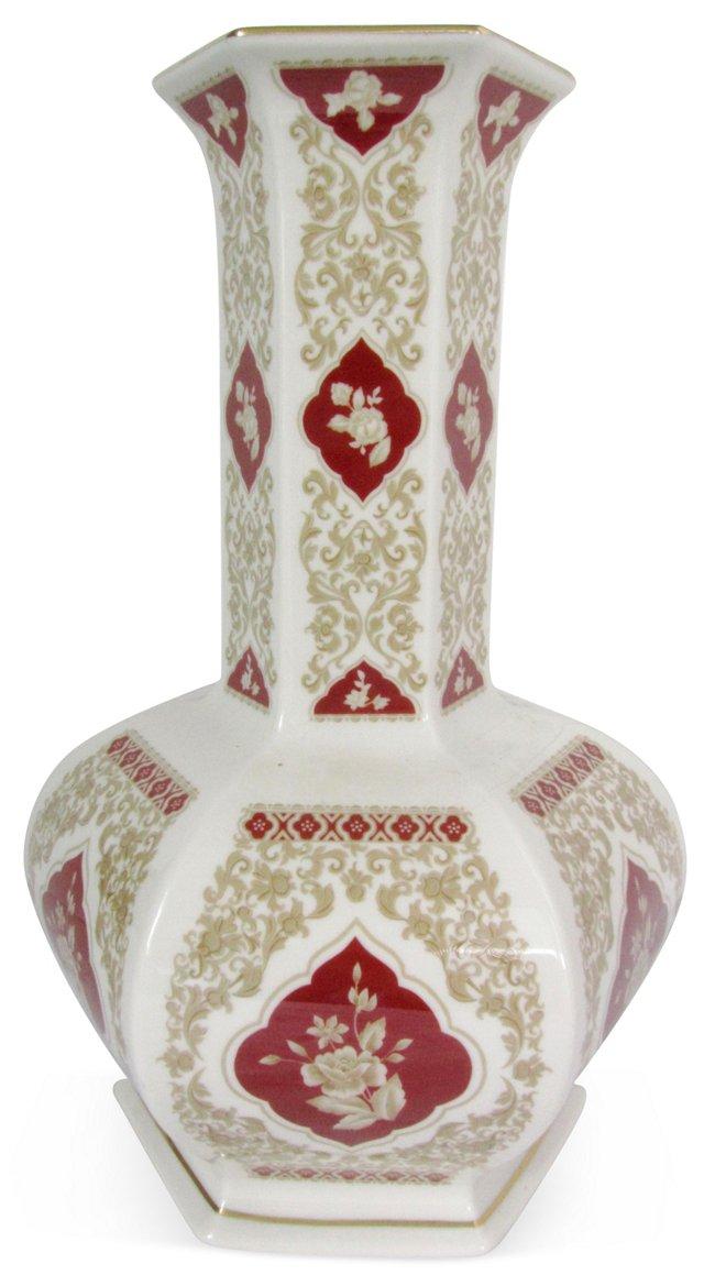Ornate Floral Lenox Vase