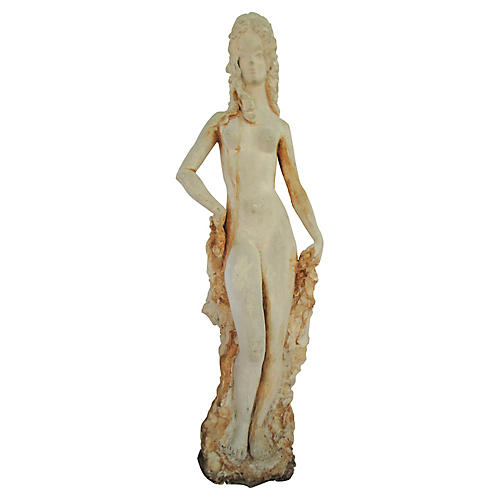 19th-C. French Figurine