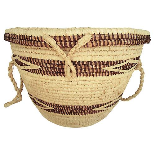 Vietnamese Woven Basket