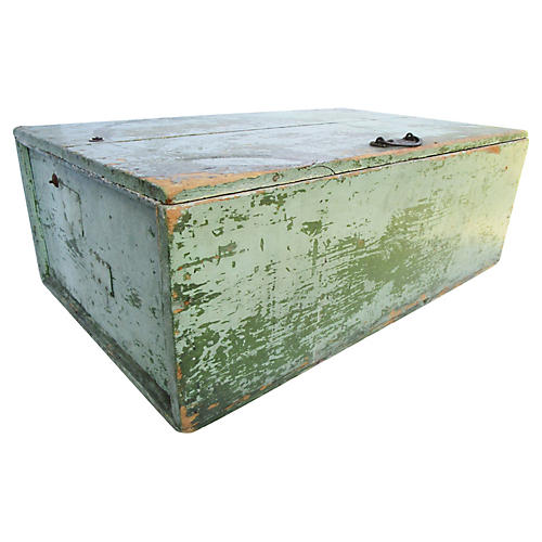 Antique French Farmhouse Trunk